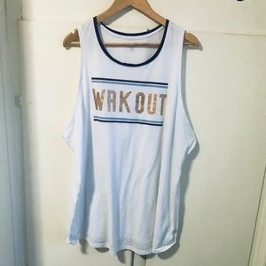 Old Navy workout tank top size 3X